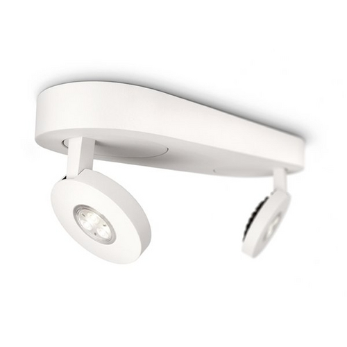 Philips Lighting Modern LED Directional Spot Light in White Finish 579123148