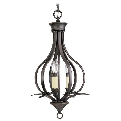 Progress Lighting Progress Pendant Light in Antique Bronze Finish P3807-20