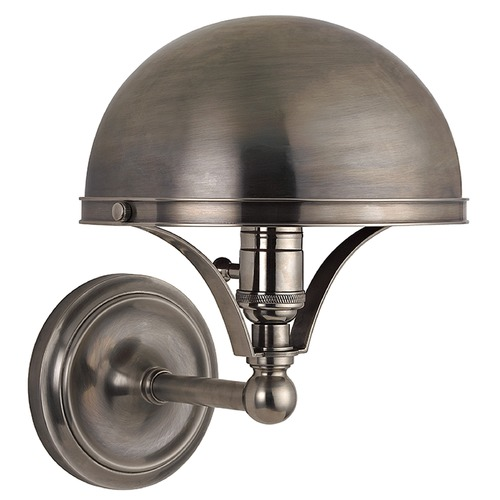 Hudson Valley Lighting Covington 1 Light Sconce - Historic Nickel 521-HN