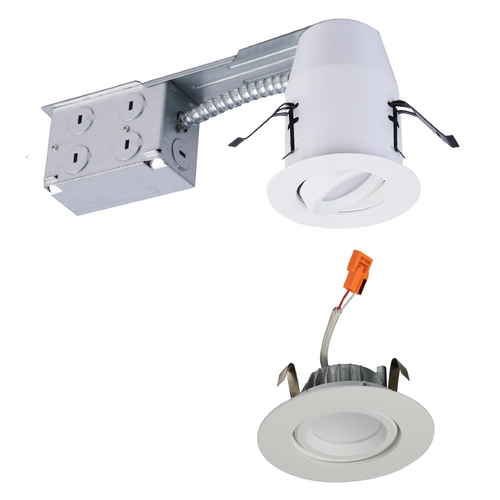 American Lighting American Lighting White 3-Inch E-Pro Swivel Remodel Kit EP3S-RE-30-WH