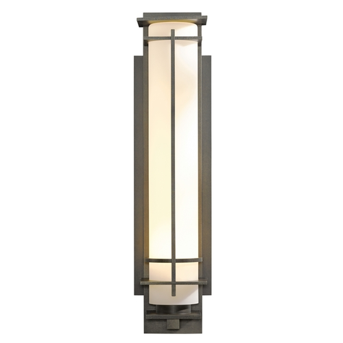Hubbardton Forge Lighting Hubbardton Forge Lighting After Hours Dark Smoke Outdoor Wall Light 307861-SKT-07-GG0189