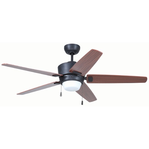 Craftmade Lighting Craftmade Lighting Atara Aged Bronze Brushed Ceiling Fan with Light ATA52ABZ5