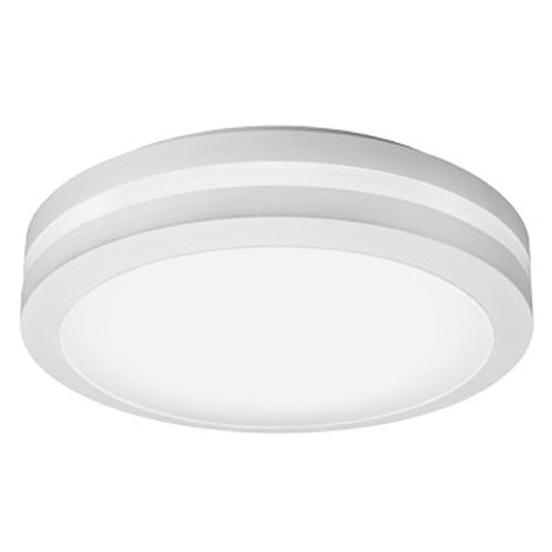 Lithonia Lighting Lithonia Lighting White LED Close To Ceiling Light OLCFM15WHM4