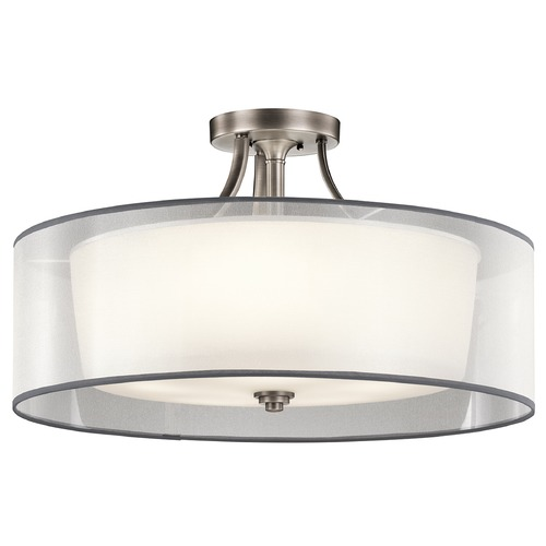 Kichler Lighting Kichler Lighting Lacey Semi-Flushmount Light 42399AP
