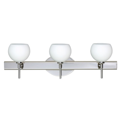 Besa Lighting Besa Lighting Palla Chrome LED Bathroom Light 3SW-565807-LED-CR