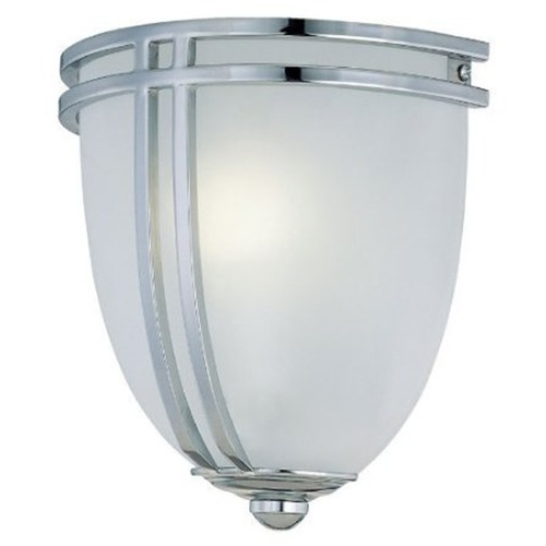 Lite Source Lighting Lite Source Lighting Finnegan Chrome Sconce LS-16097C/FRO