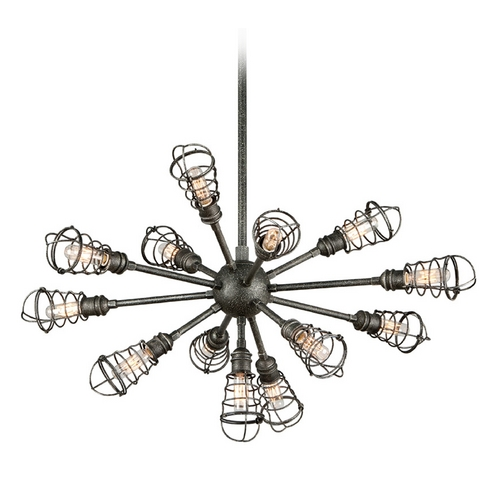 Troy Lighting Pendant Light in Old Silver Finish F3815