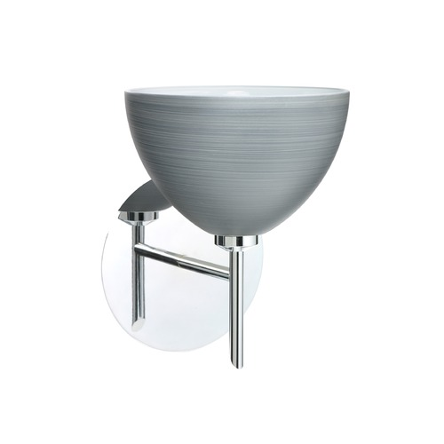 Besa Lighting Besa Lighting Brella Chrome Sconce 1SW-4679TN-CR