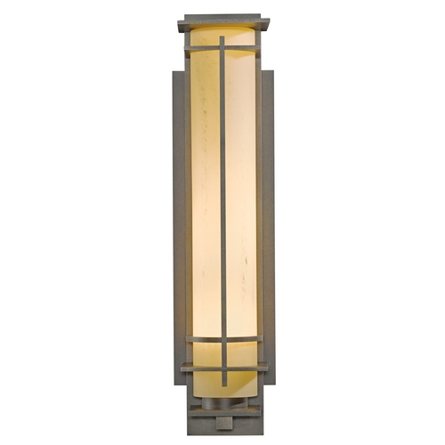 Hubbardton Forge Lighting Hubbardton Forge Lighting After Hours Dark Smoke Outdoor Wall Light 307861-07-H189