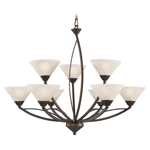 Elk Lighting Elk Lighting Oil Rubbed Bronze Chandelier 17648/6+3
