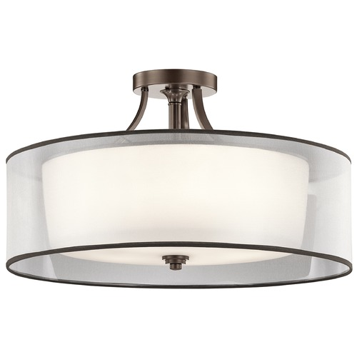 Kichler Lighting Kichler Lighting Lacey Semi-Flushmount Light 42399MIZ