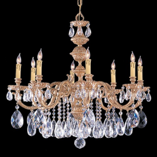 Crystorama Lighting Crystorama Lighting Hot Deal Bronze Patina Chandelier 2508-BP-CL-MWP