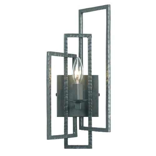 Crystorama Lighting Crystorama Lighting Capri Gray Sconce 331-GY