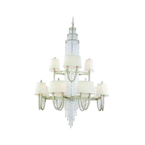 Corbett Lighting Corbett Lighting Viceroy Antique Silver Leaf Chandelier 106-024
