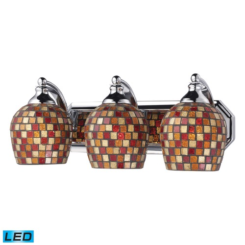 Elk Lighting Elk Lighting Bath and Spa Polished Chrome LED Bathroom Light 570-3C-MLT-LED