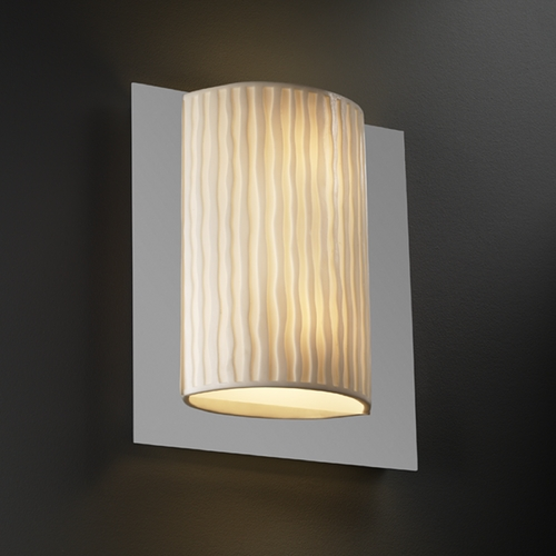 Justice Design Group Justice Design Group Porcelina Collection Sconce PNA-5562-WFAL-CROM