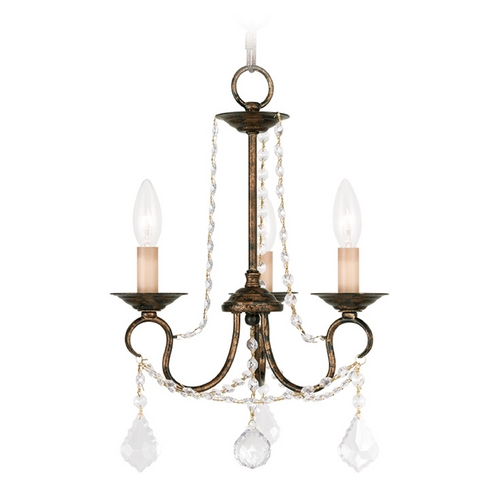 Livex Lighting Livex Lighting Pennington Venetian Golden Bronze Crystal Chandelier 6513-71