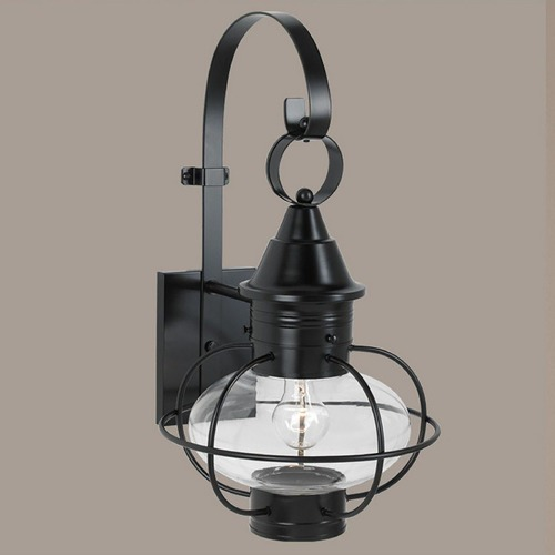 Norwell Lighting Norwell Lighting Vidalia Onion Gun Metal Outdoor Wall Light 1609-GM-PR