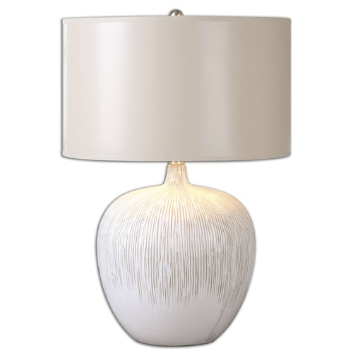 Uttermost Lighting Uttermost Georgios Textured Ceramic Lamp 26194-1