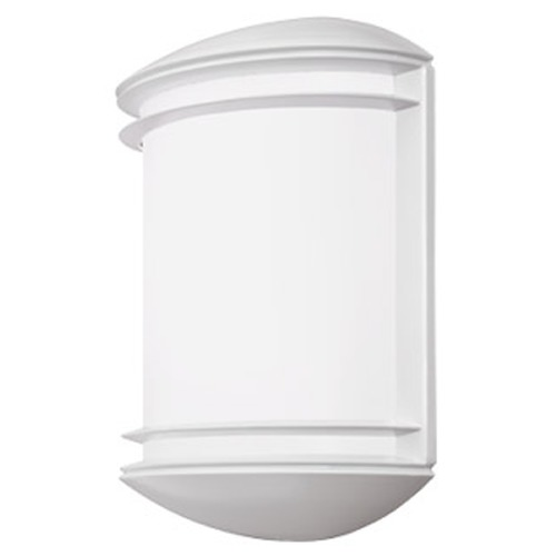 Lithonia Lighting Lithonia Lighting White LED Outdoor Wall Light OLCS8WHM4