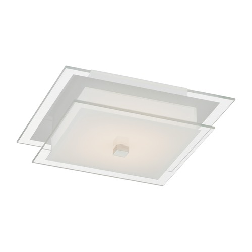 Lite Source Lighting Lite Source Idonia Chrome LED Flushmount Light LS-5707