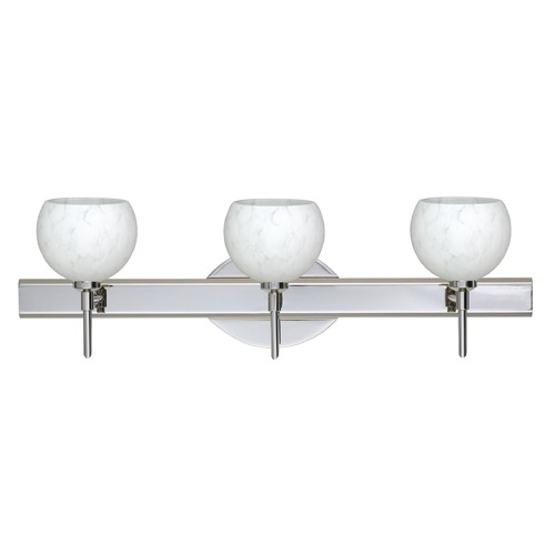 Besa Lighting Besa Lighting Palla Chrome LED Bathroom Light 3SW-565819-LED-CR