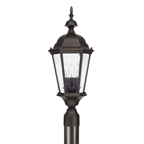 Capital Lighting Capital Lighting Carriage House Old Bronze Post Light 9725OB
