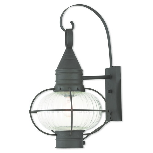 Livex Lighting Livex Lighting Newburyport Bronze Outdoor Wall Light 27004-07