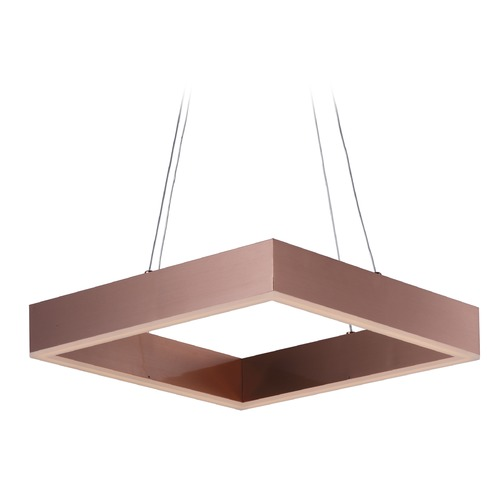 ET2 Lighting Metallika LED Satin Copper LED Pendant Light E24295-SC