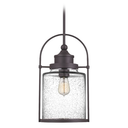 Quoizel Lighting Quoizel Lighting Payson Western Bronze Medium Mini-Pendant Light with Clear Glass QPP2782WT