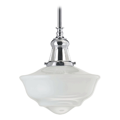 Quorum Lighting Quorum Lighting Chrome Pendant Light 801-12-14