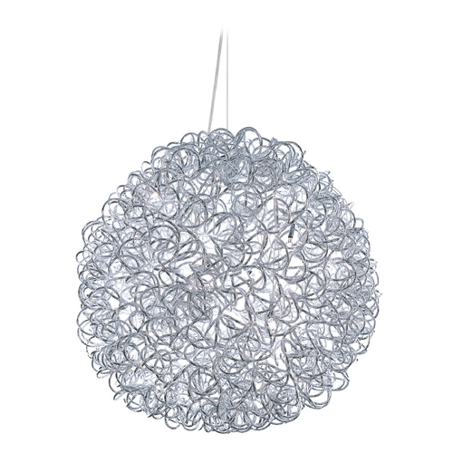 ET2 Lighting Dazed Polished Chrome Pendant Light E22574-PC