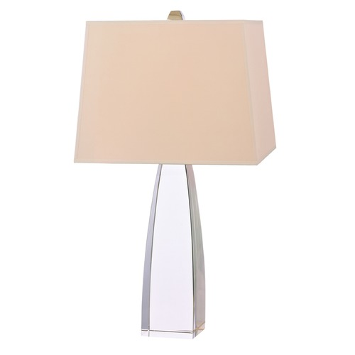 Hudson Valley Lighting Hudson Valley Lighting Delano Polished Nickel Table Lamp with Rectangle Shade L484-PN