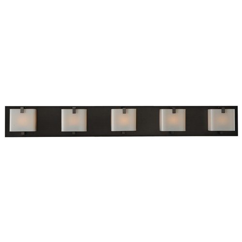 Kalco Lighting Kalco Lighting Meridian Brushed Black Nickel Bathroom Light 313235BBN