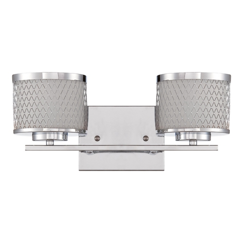 Jeremiah Lighting Jeremiah Lighting Euclid Chrome Bathroom Light 16615CH2