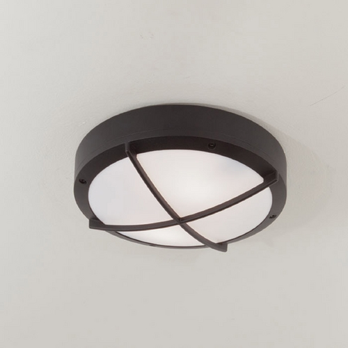 Norwell Lighting Norwell Lighting Port Black Outdoor Wall Light 1428-BL-FR