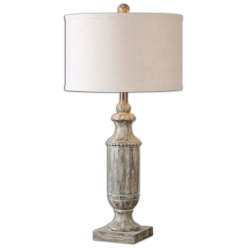 Uttermost Lighting Uttermost Agliano Aged Dark Pecan Lamp 26196-1