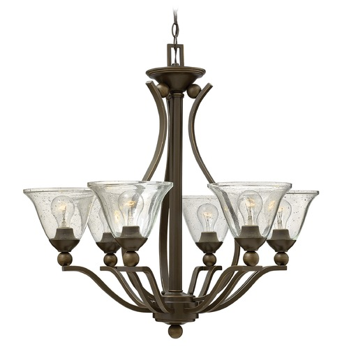 Hinkley Lighting Hinkley Lighting Bolla Olde Bronze Chandelier 4656OB-CL