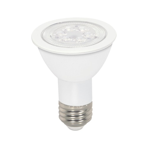 Satco Lighting 7W Medium Base LED Bulb PAR20 40 Degree Beam Spread 340LM Non-Dimmable S9188