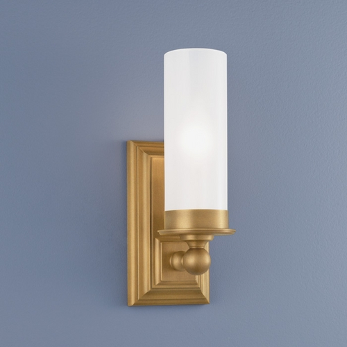 Norwell Lighting Norwell Lighting Richmond Aged Brass Sconce 9730-AG-MO