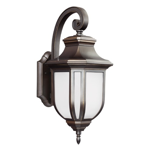 Sea Gull Lighting Sea Gull Childress Antique Bronze Outdoor Wall Light 8736301-71