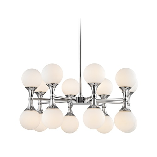 Hudson Valley Lighting Hudson Valley Lighting Astoria Polished Chrome LED Chandelier 3316-PC
