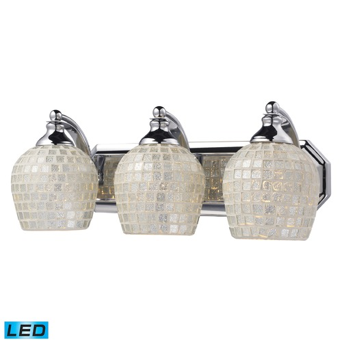 Elk Lighting Elk Lighting Bath and Spa Polished Chrome LED Bathroom Light 570-3C-SLV-LED