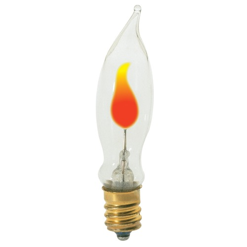 Satco Lighting Incandescent CA5 Light Bulb Candelabra Base 120V Dimmable by Satco S3661