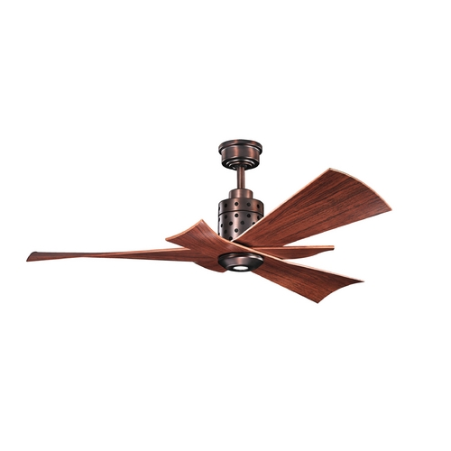 Kichler Lighting Kichler Lighting Frey Oil Brushed Bronze Ceiling Fan with Light 300163OBB