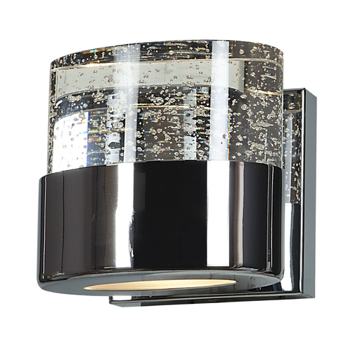 Access Lighting Access Lighting Bubbles Chrome Sconce 23925-CH/CLR