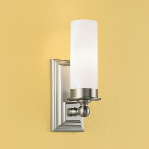 Norwell Lighting Norwell Lighting Richmond Brush Nickel Sconce 9730-BN-MO