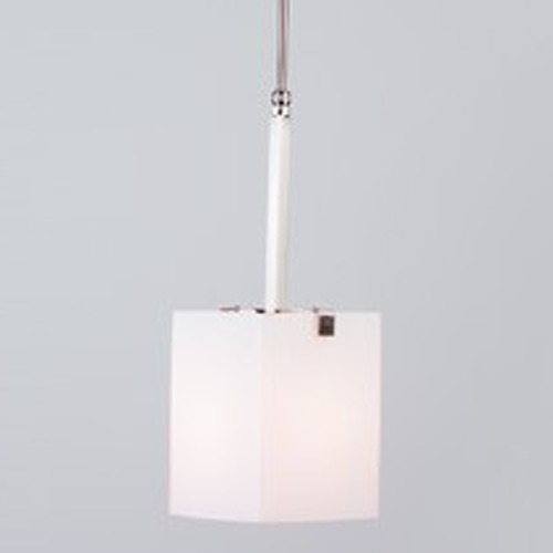 Illuminating Experiences Illuminating Experiences Symmetry Mini-Pendant Light with Square Shade SYMMETRY6CH