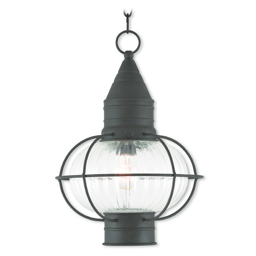 Livex Lighting Livex Lighting Newburyport Bronze Outdoor Hanging Light 27006-07