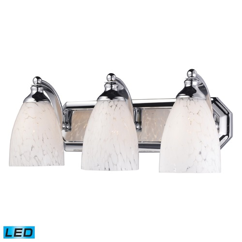 Elk Lighting Elk Lighting Bath and Spa Polished Chrome LED Bathroom Light 570-3C-SW-LED